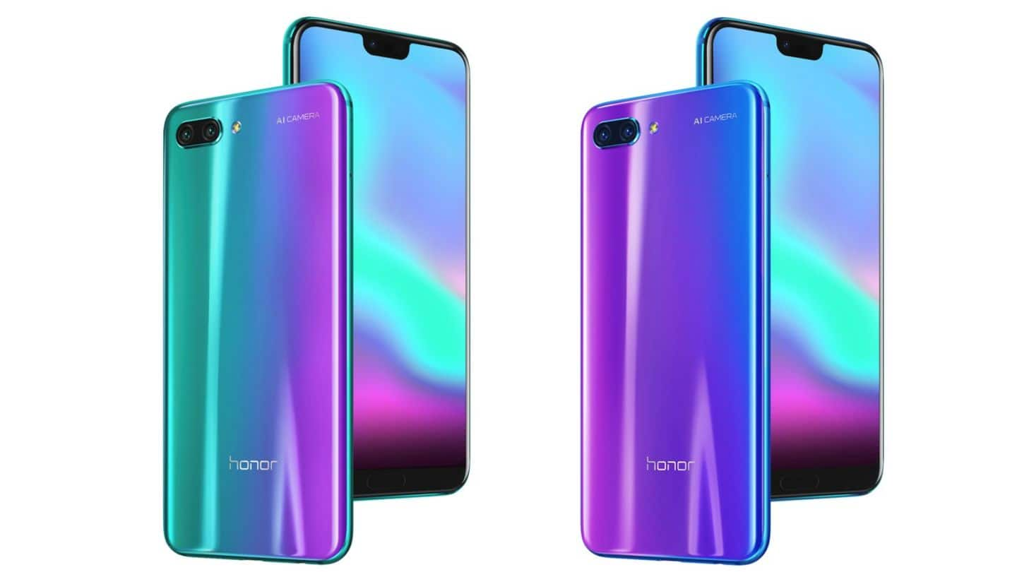 Honor 10 launched: Pre-orders on Flipkart start from midnight
