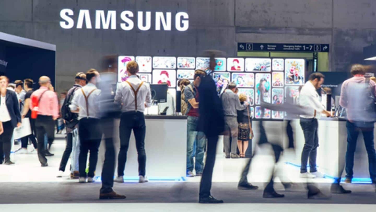 Patent suggests Samsung could be working on a blockchain smartphone