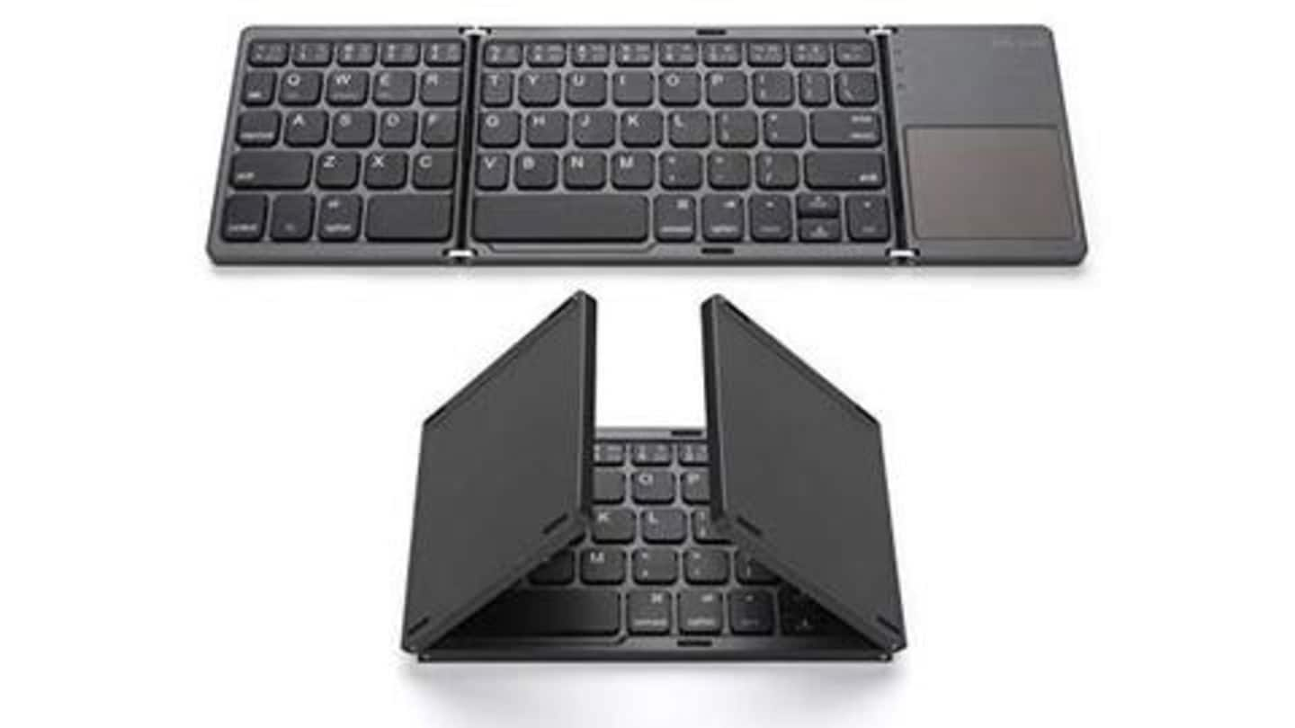 Best foldable keyboards available in India
