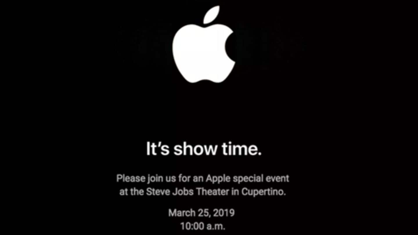 What to expect from Apple's March 25th 'Show Time' event