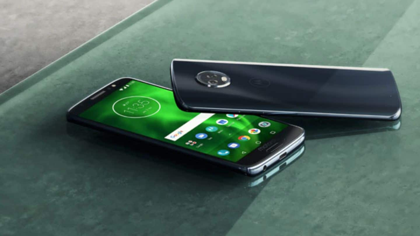 Moto G6 Plus launched in India for Rs. 22,499