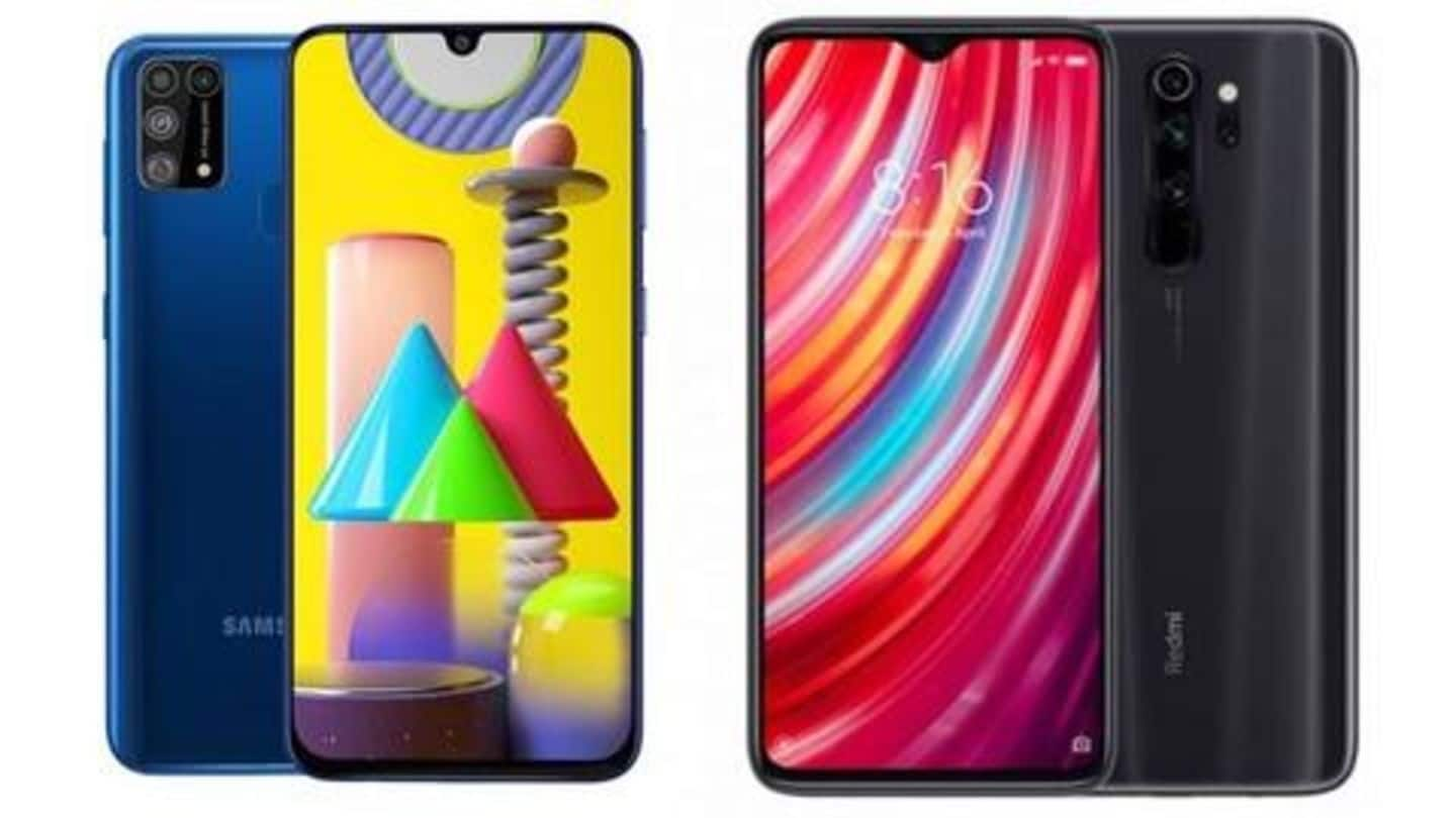 Galaxy M31 v/s Redmi Note 8 Pro: Which is better?