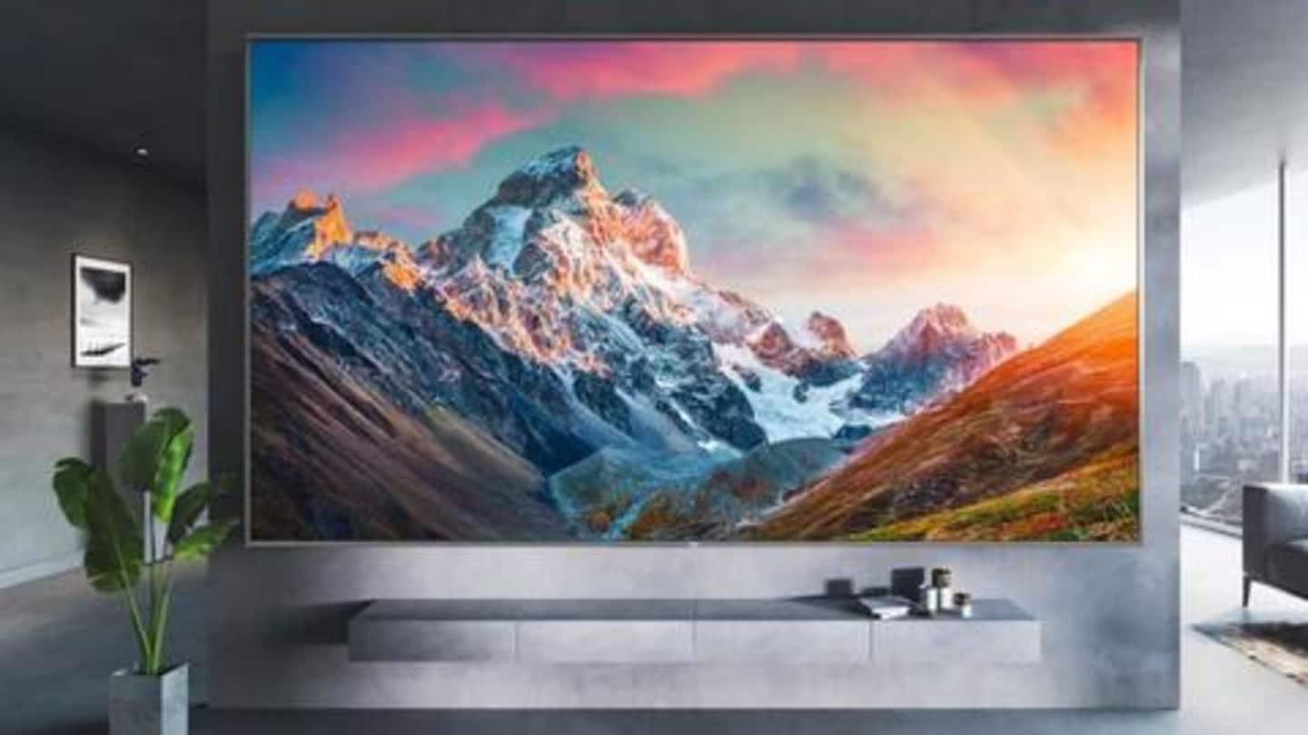 Xiaomi takes on rivals with a massive 98-inch 4K TV
