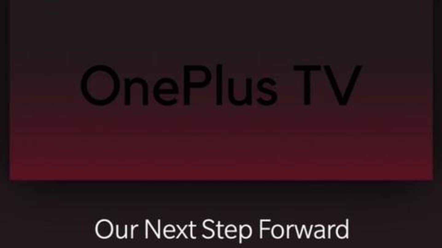 OnePlus planning to launch its smart TV on September 26