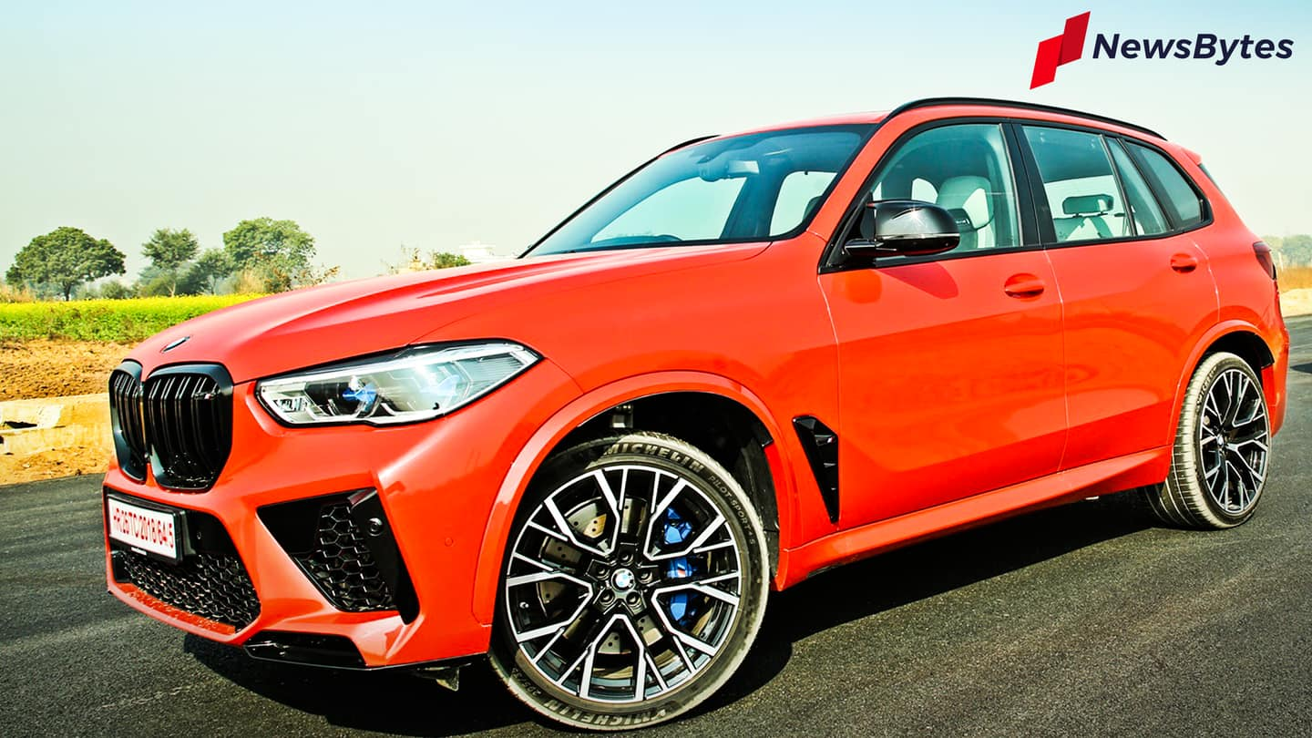 BMW X5 M Competition review: Practical SUV with supercar performance