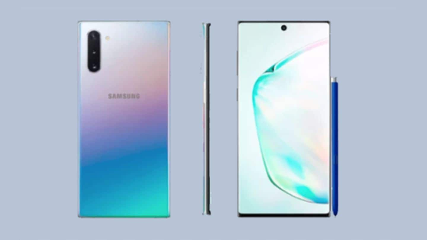 Samsung Galaxy Note 10, Note 10+ full specifications leaked