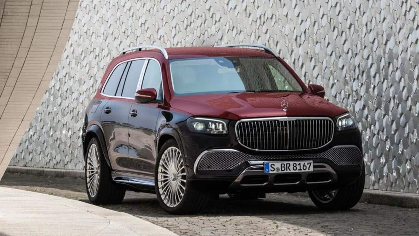 First-ever Mercedes-Maybach SUV unveiled at Rs. 1.2 crore