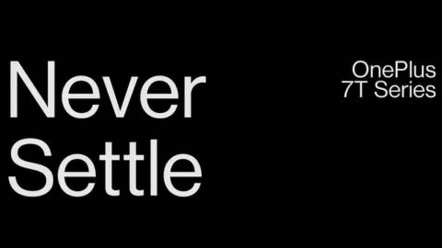 OnePlus TV, OnePlus 7T-series to be launched on September 26