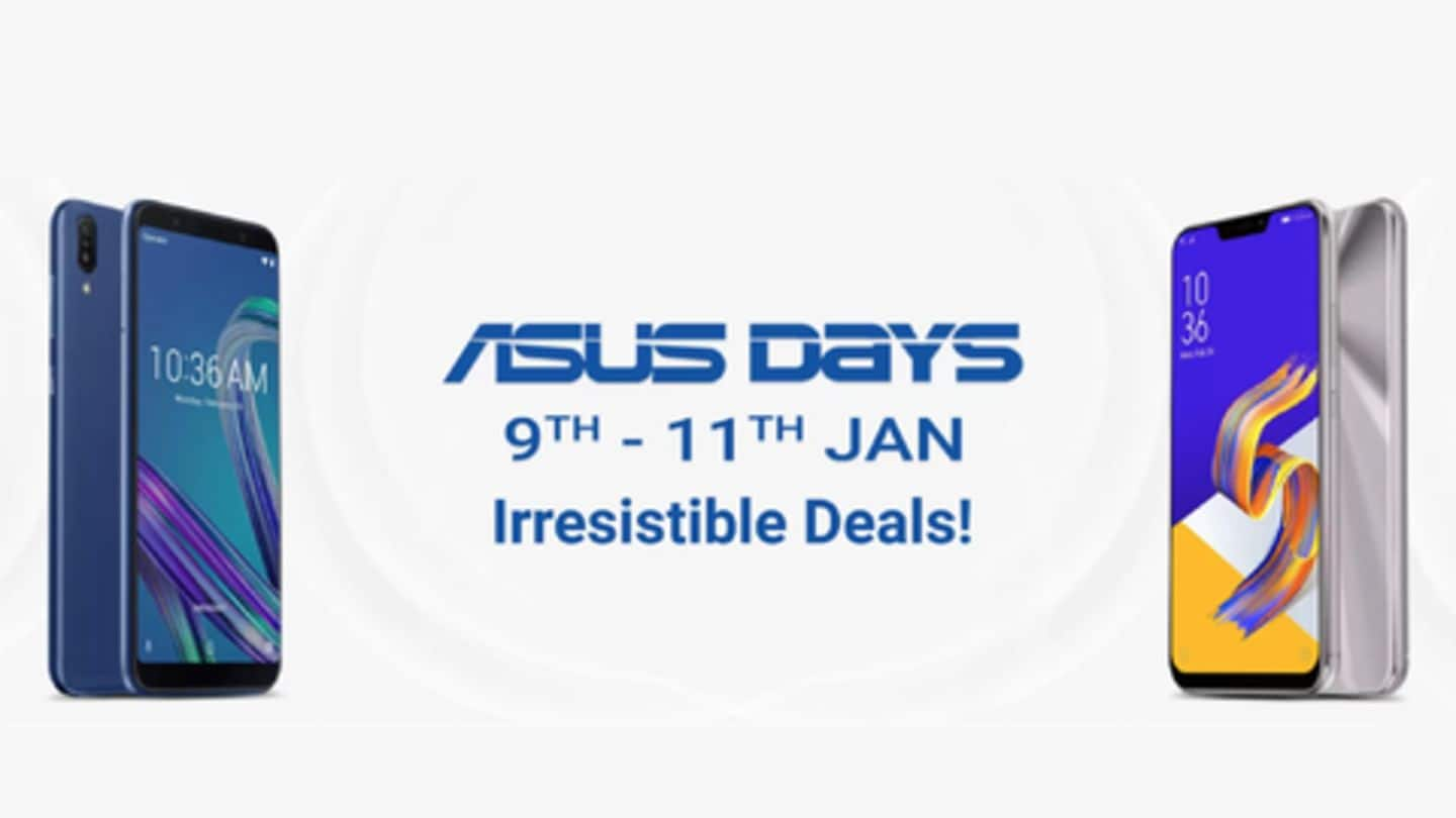 Flipkart-ASUS Sale: Deals on ZenFone 5Z, ZenFone Max Pro M1