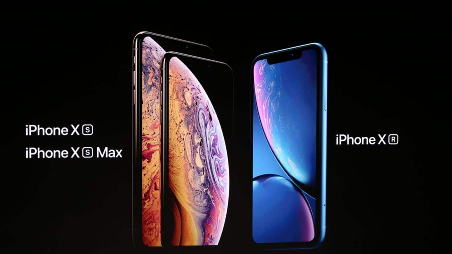 Apple iPhone XS, iPhone XS Max, iPhone XR officially launched