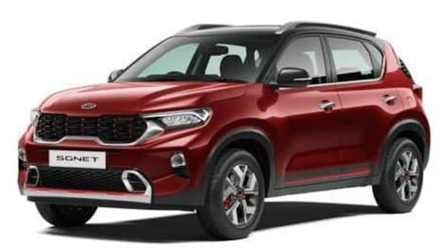 Kia Sonet's pre-bookings now live in India: Details here