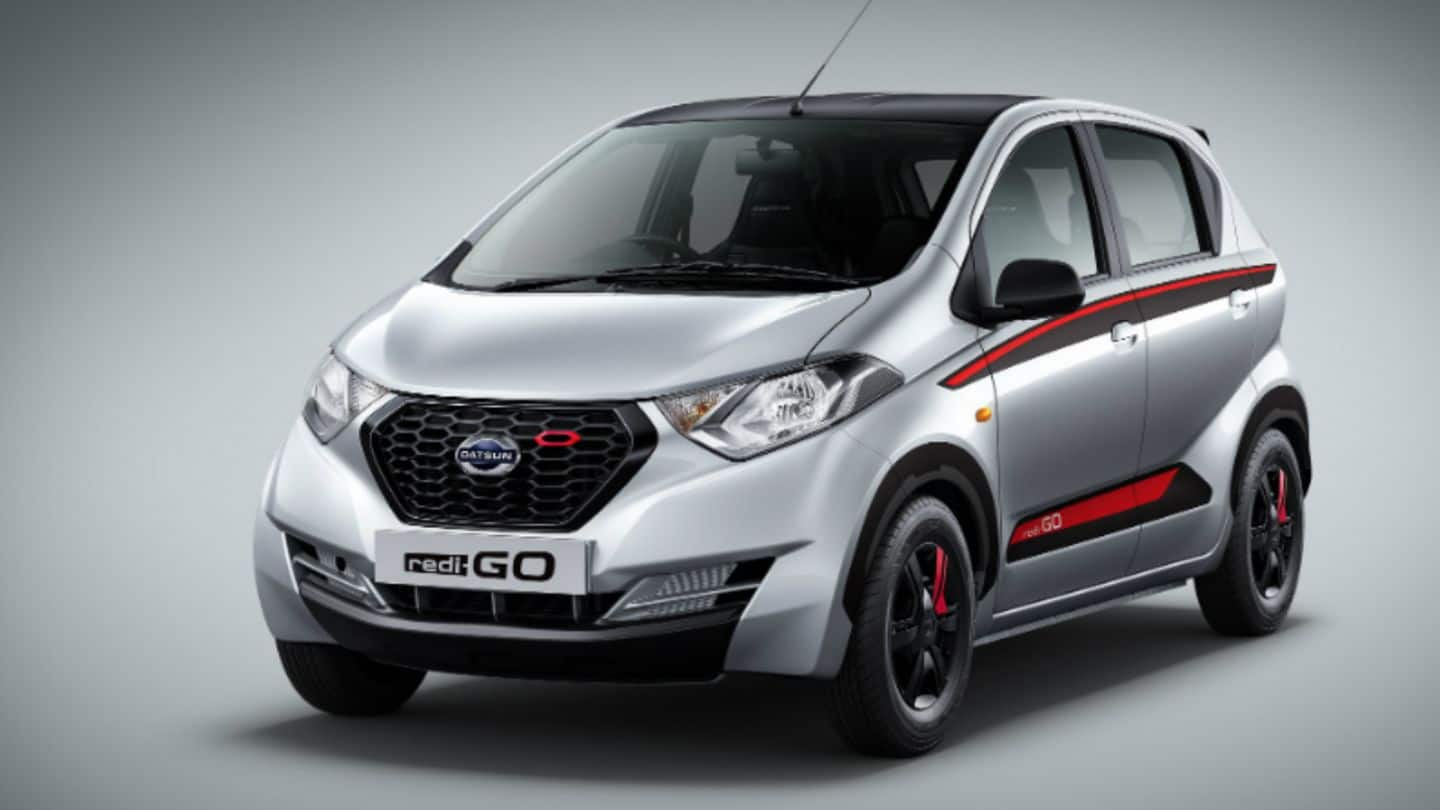 Datsun Redigo Limited-Edition launched in India for Rs. 3.58 lakh