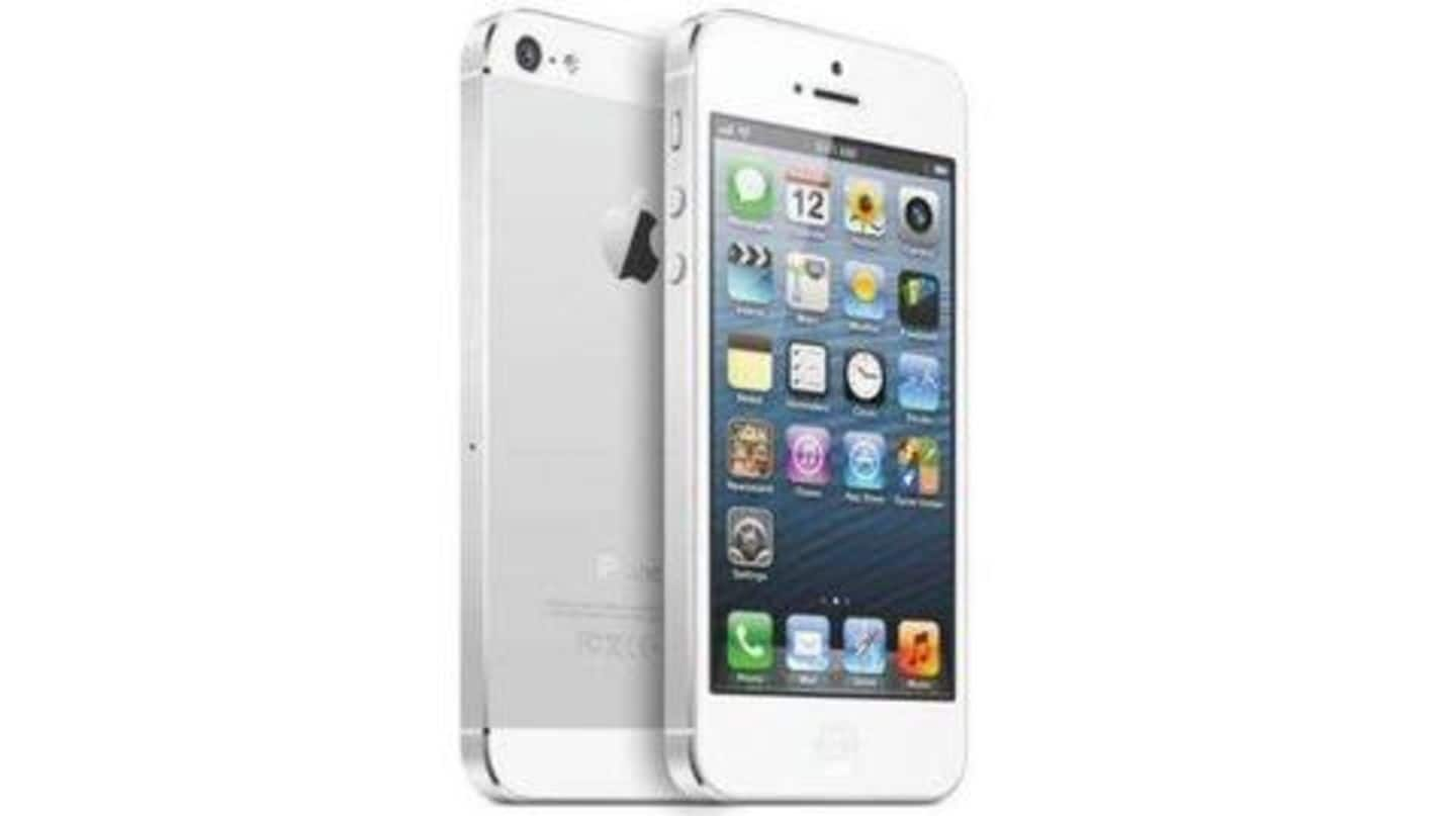 Update iPhone 5 immediately to keep using apps and services