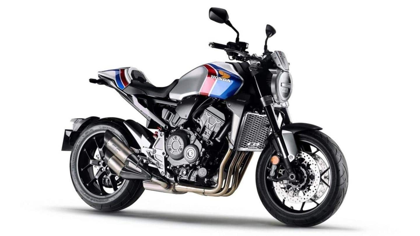 2021 Honda CB1000R motorbike to be unveiled on November 10
