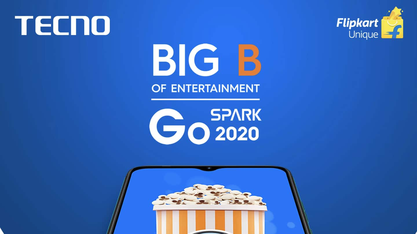TECNO Spark Go (2020) to be launched on September 1