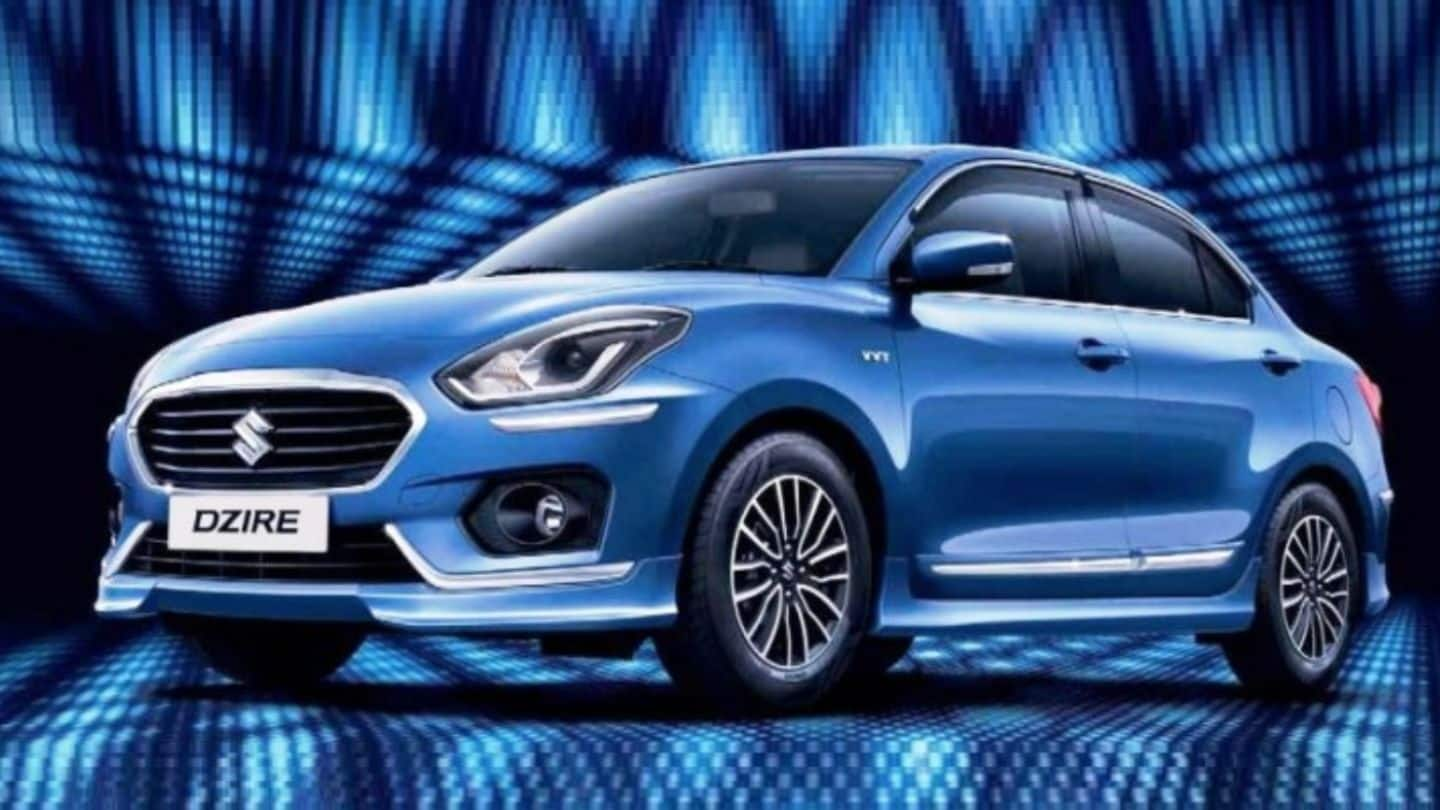 Maruti Suzuki Dzire special-edition launched for Rs. 5.56 lakh