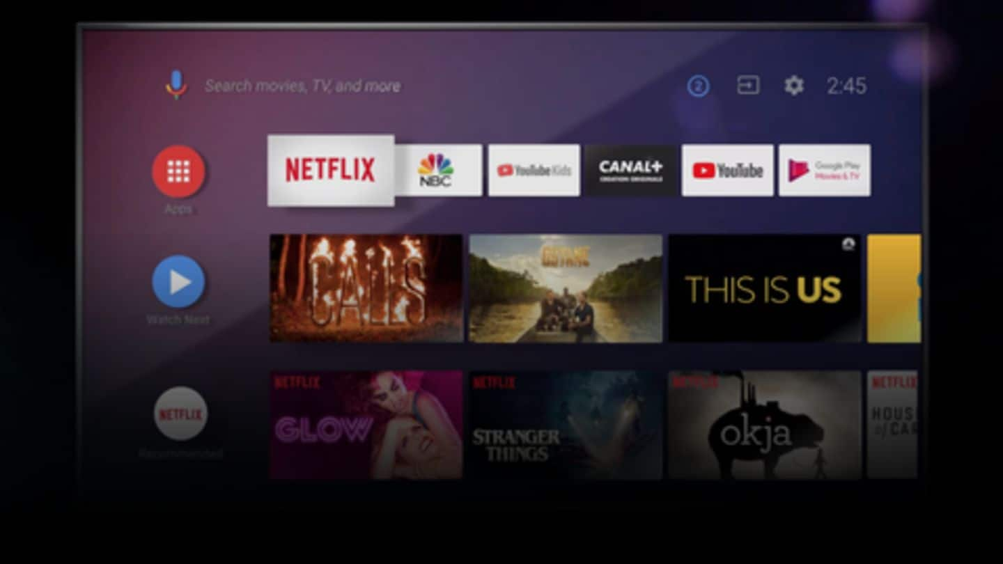 Android TV to get Android 10 update by 2019-end
