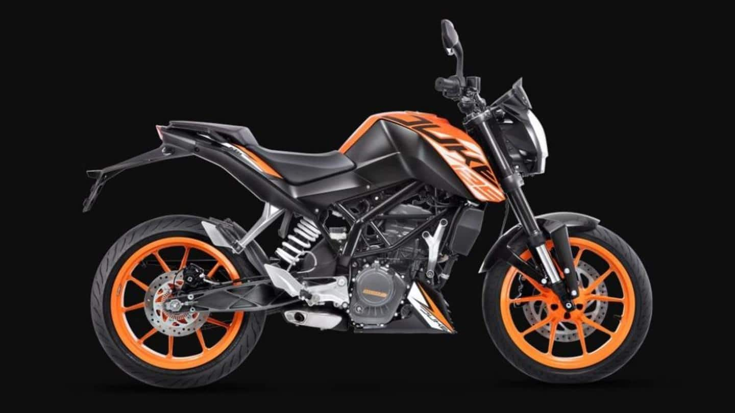 2021 KTM 125's bookings open in India, launch imminent