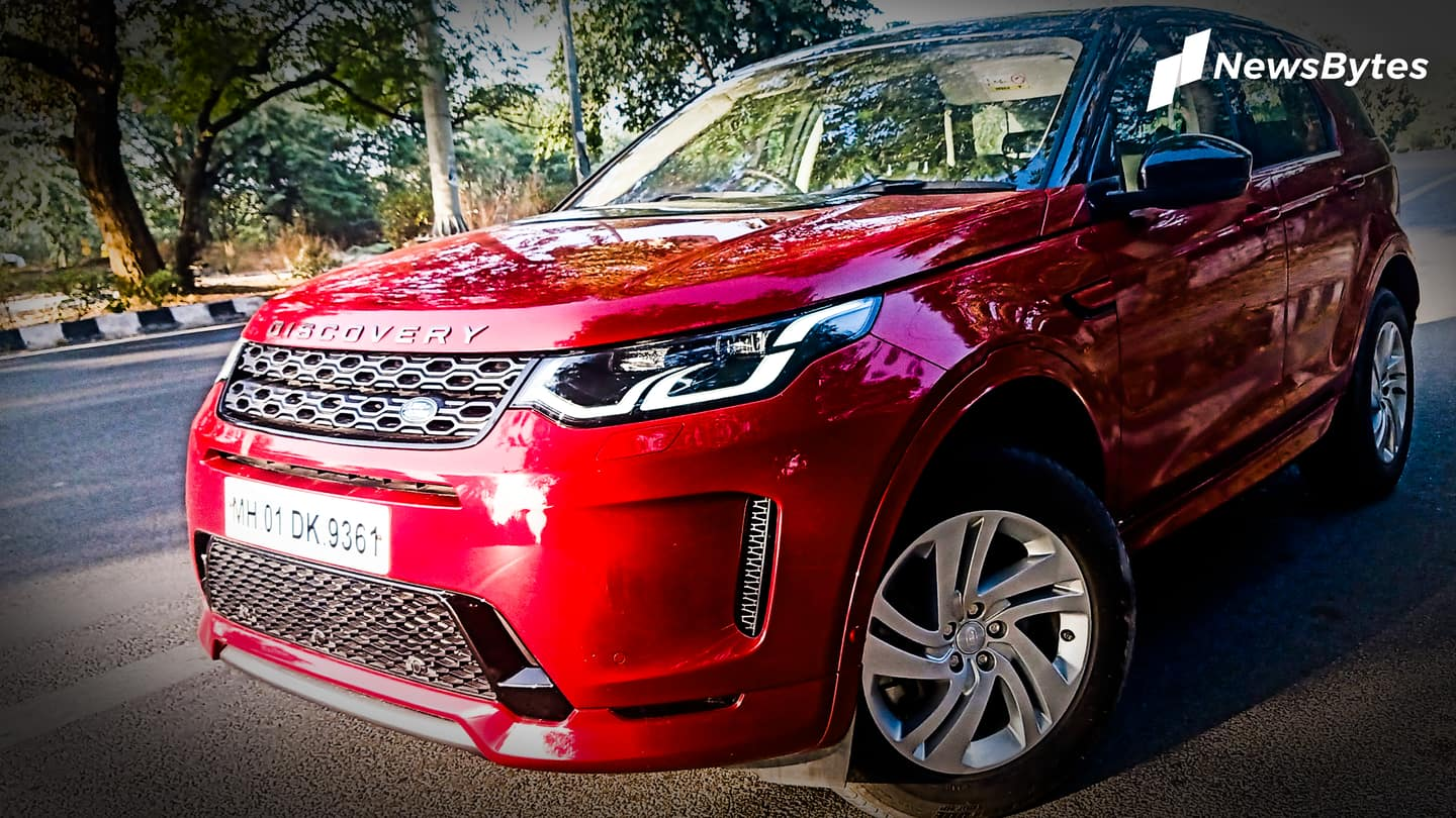 Land Rover Discovery Sport (facelift) review: Luxury off-roader gets better