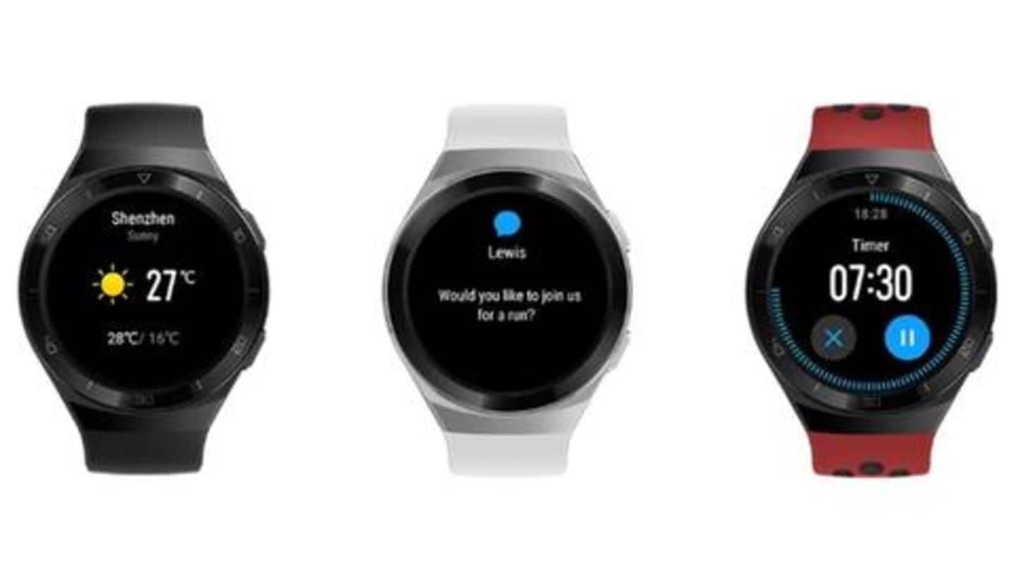 Huawei's latest smartwatch supports a whopping 100 workout modes