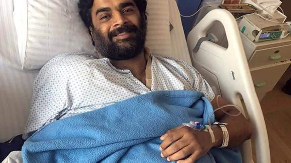 """Cannot feel my right arm,"" says Madhavan after shoulder surgery"