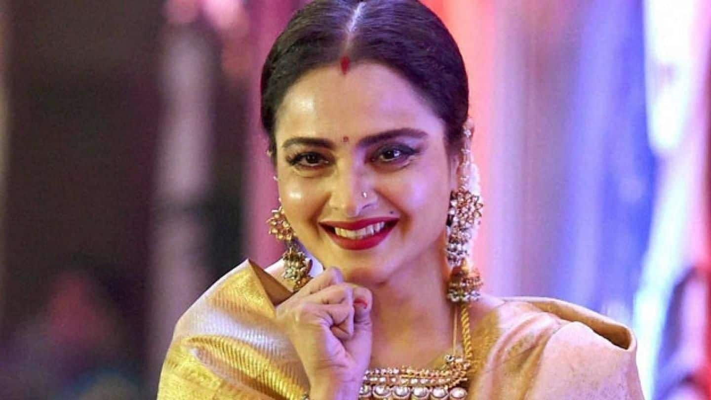 IIFA 2018: Rekha to return to stage after 21 years