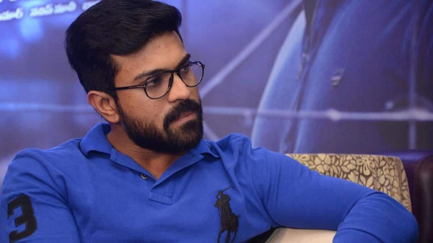 Casting couch: Ram Charan breaks silence on Sri Reddy controversy
