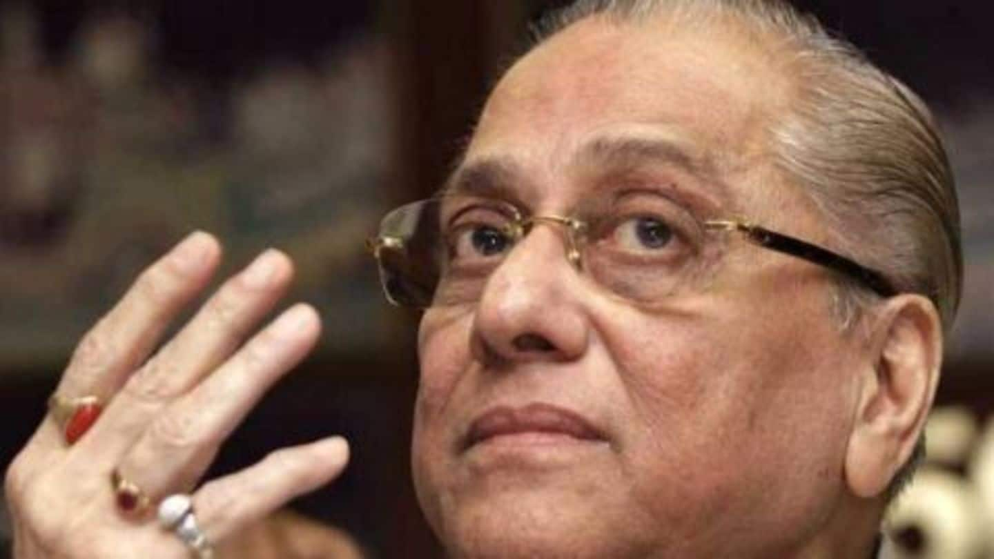 Jagmohan Dalmiya passes away