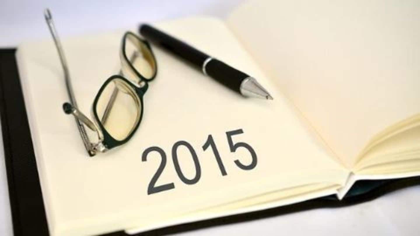 2015: An eventful year after all