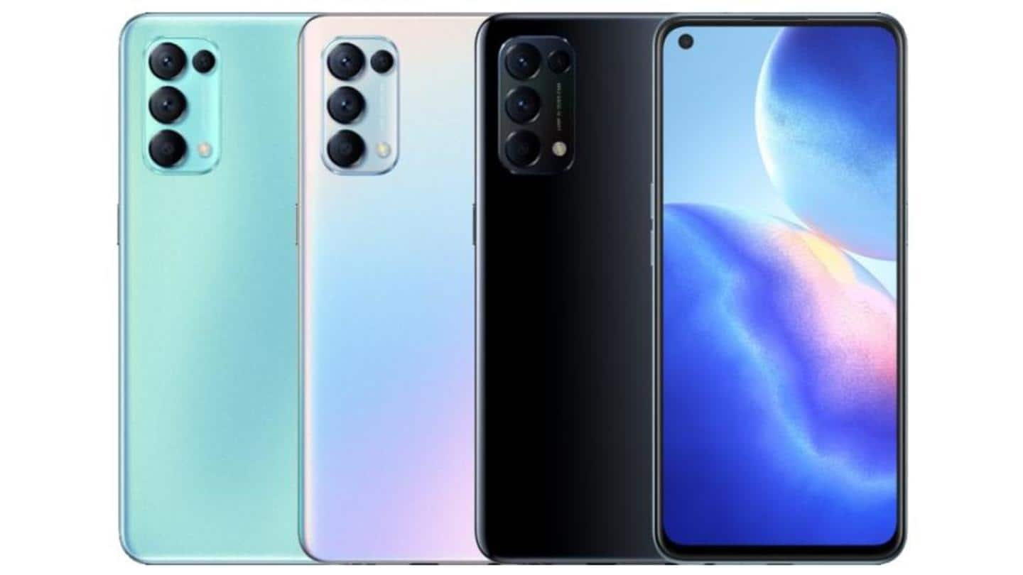 OPPO Reno5 K 5G, with Snapdragon 750G chipset, launched