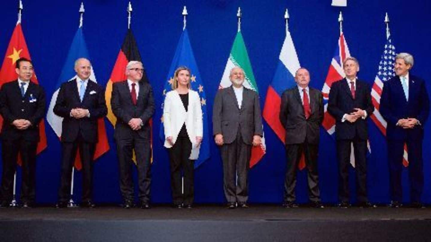 Nuclear deal: US lifts sanctions on Iran
