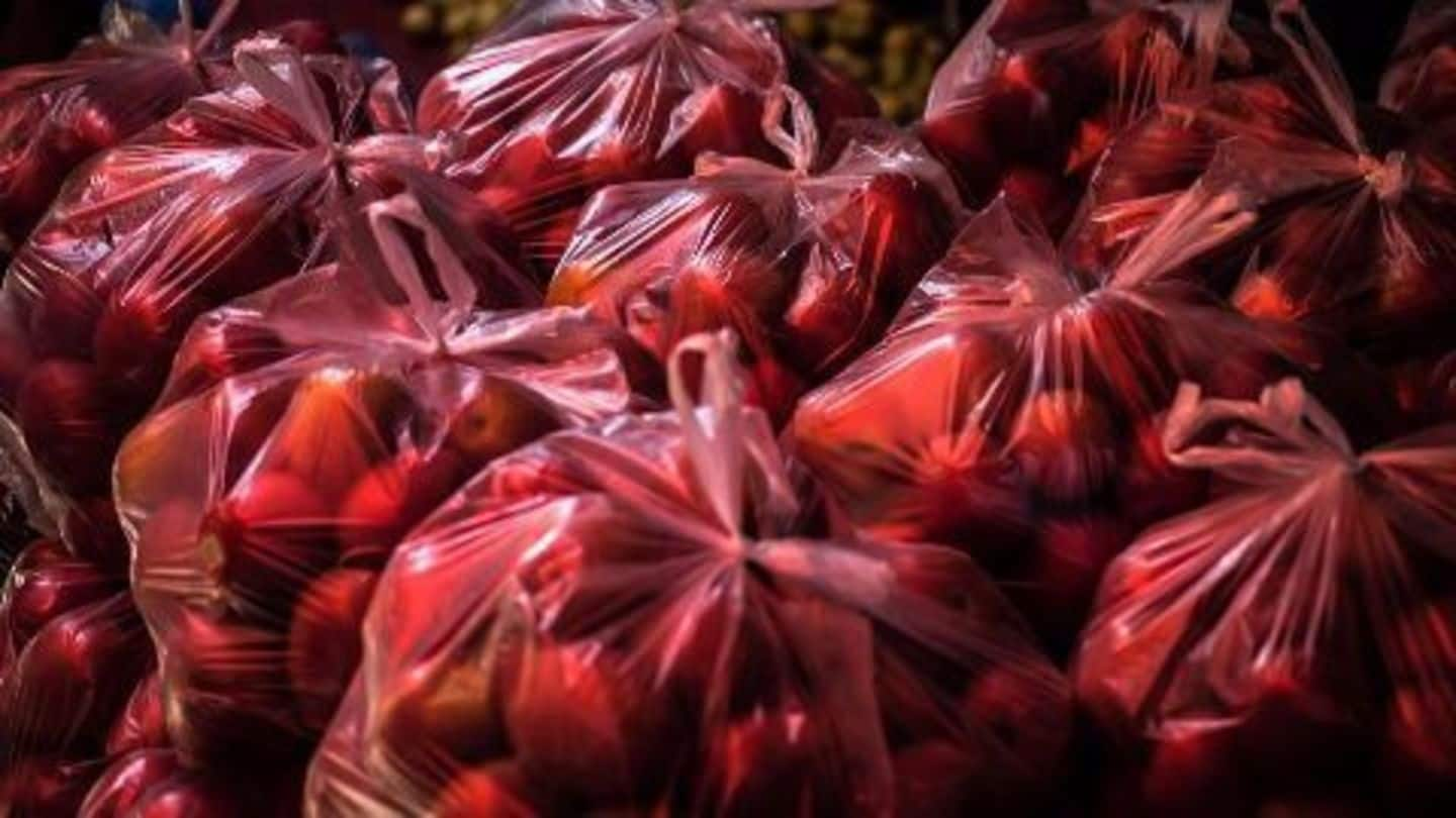 Centre to ban plastic bags below 50 microns