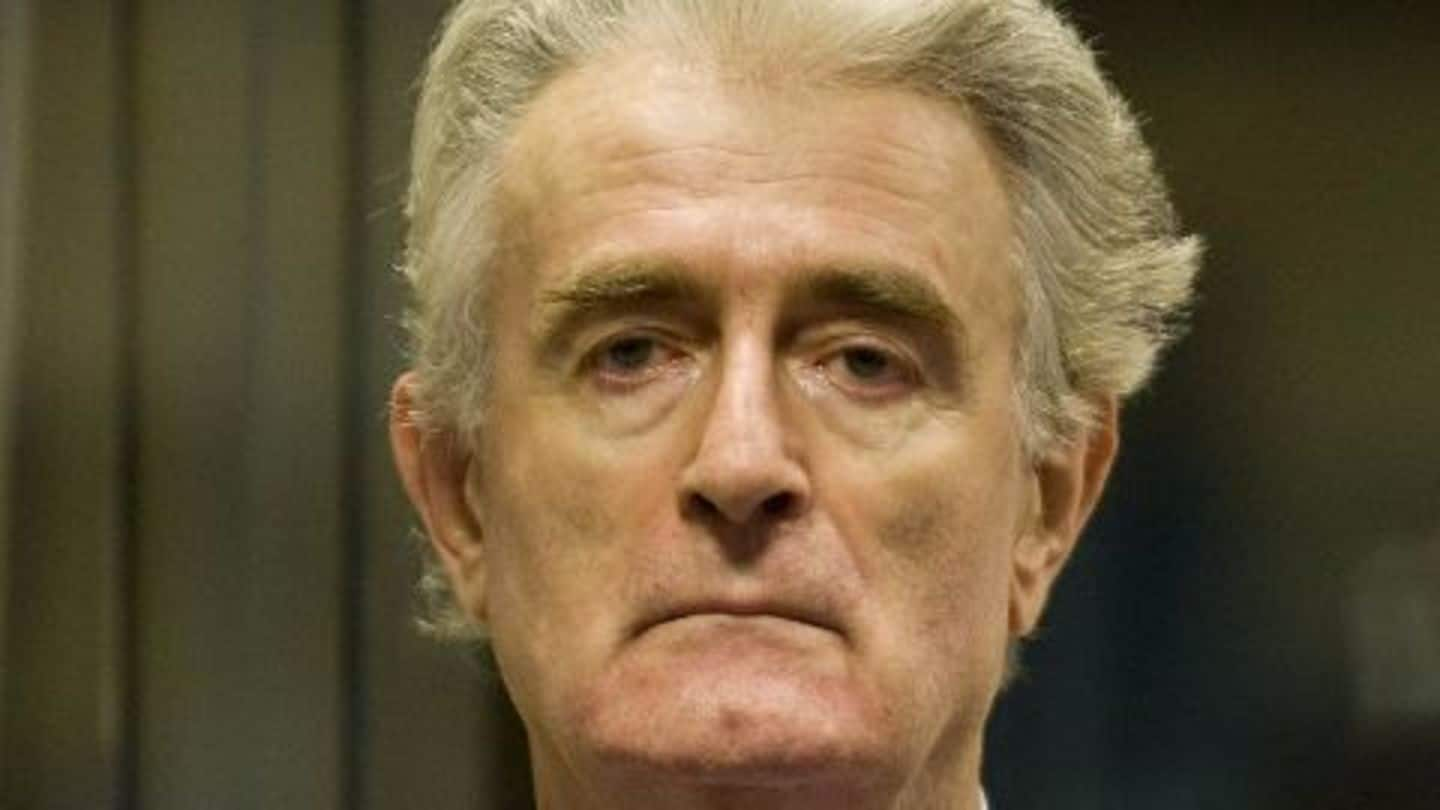 Radovan Karadzic gets 40 years for genocide