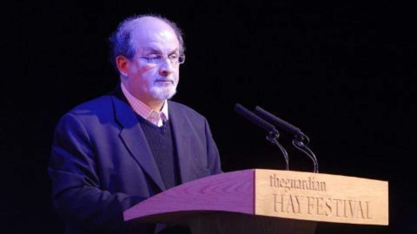 'Swedish Academy' condemns Iran's fatwa on Rushdie