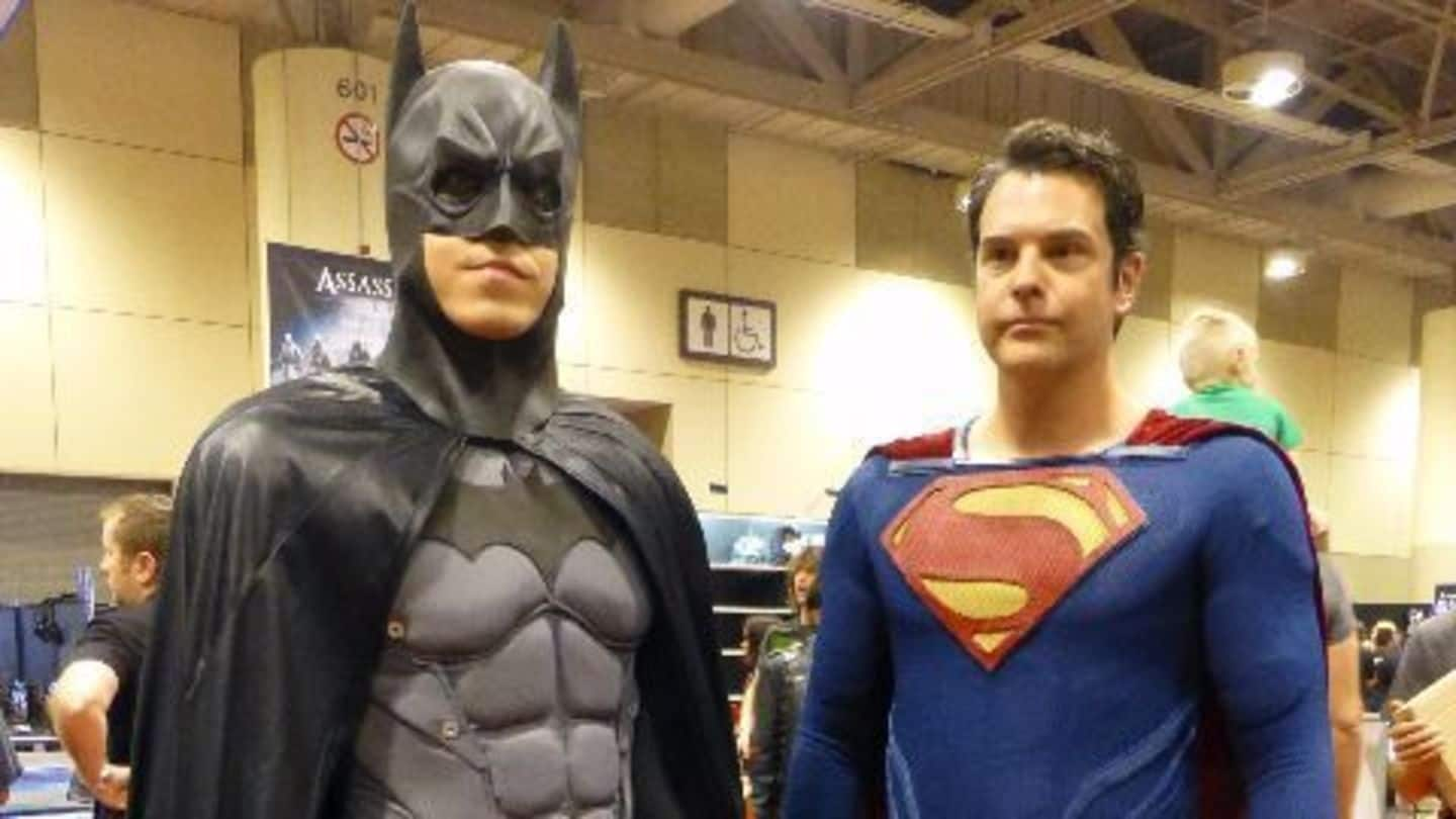 Batman v Superman: The ultimate superhero face-off