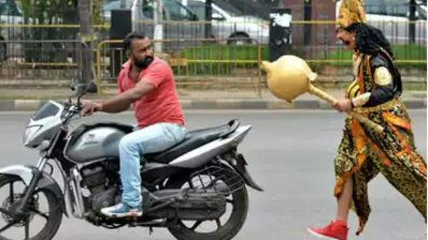 Bengaluru Police hires 'Yamraj' to deliver road safety message