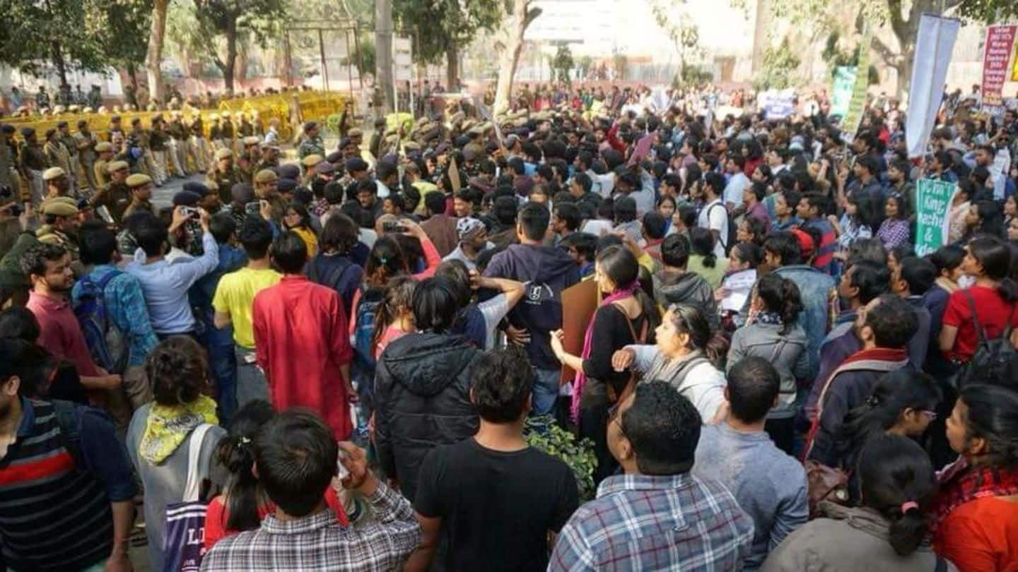Students attacked and manhandled dean, alleges JNU