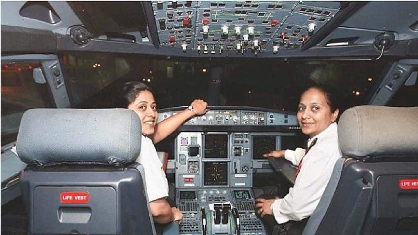 #BreakingGlassCeiling: India hires more female pilots than any other country