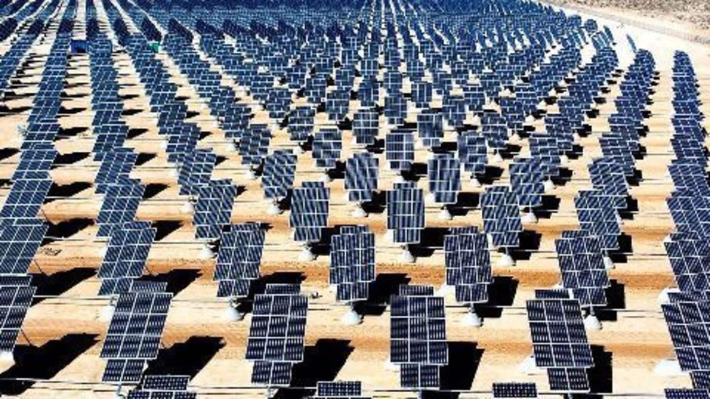 NITI Aayog pushes for a solar equipment manufacturing policy