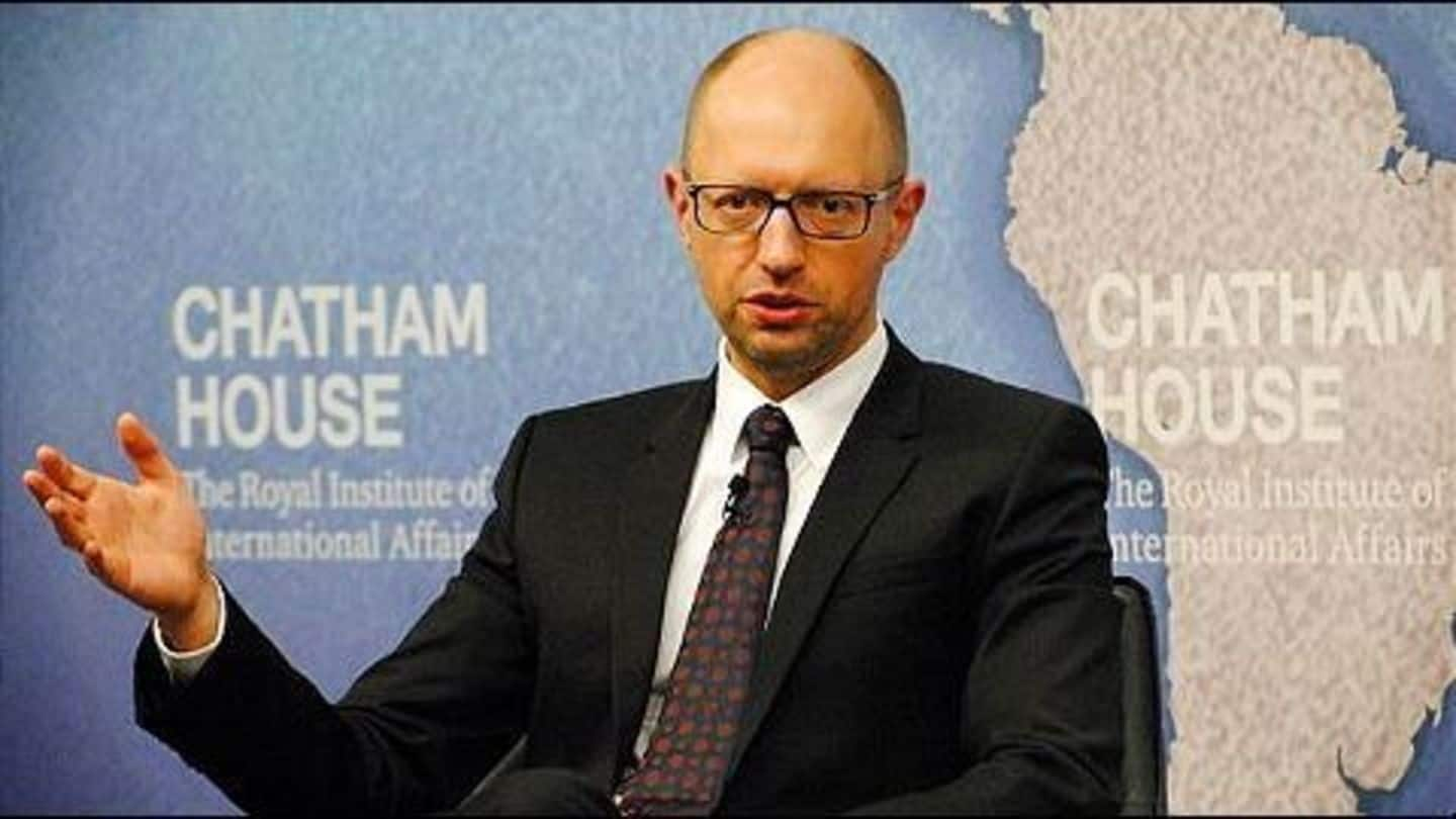 Ukrainian PM's resignation accepted by the Parliament