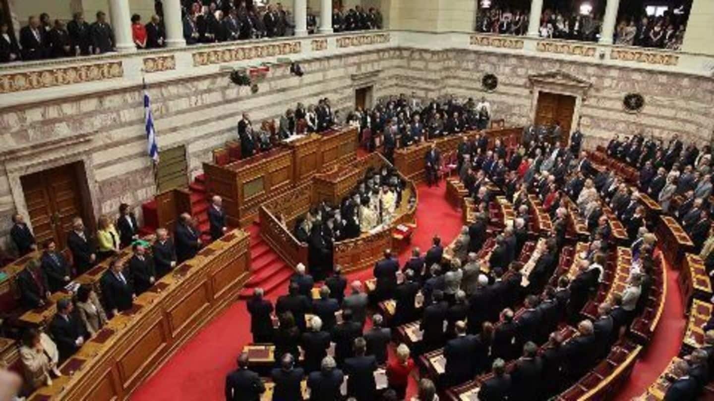 Greek Parliament passes controversial reforms