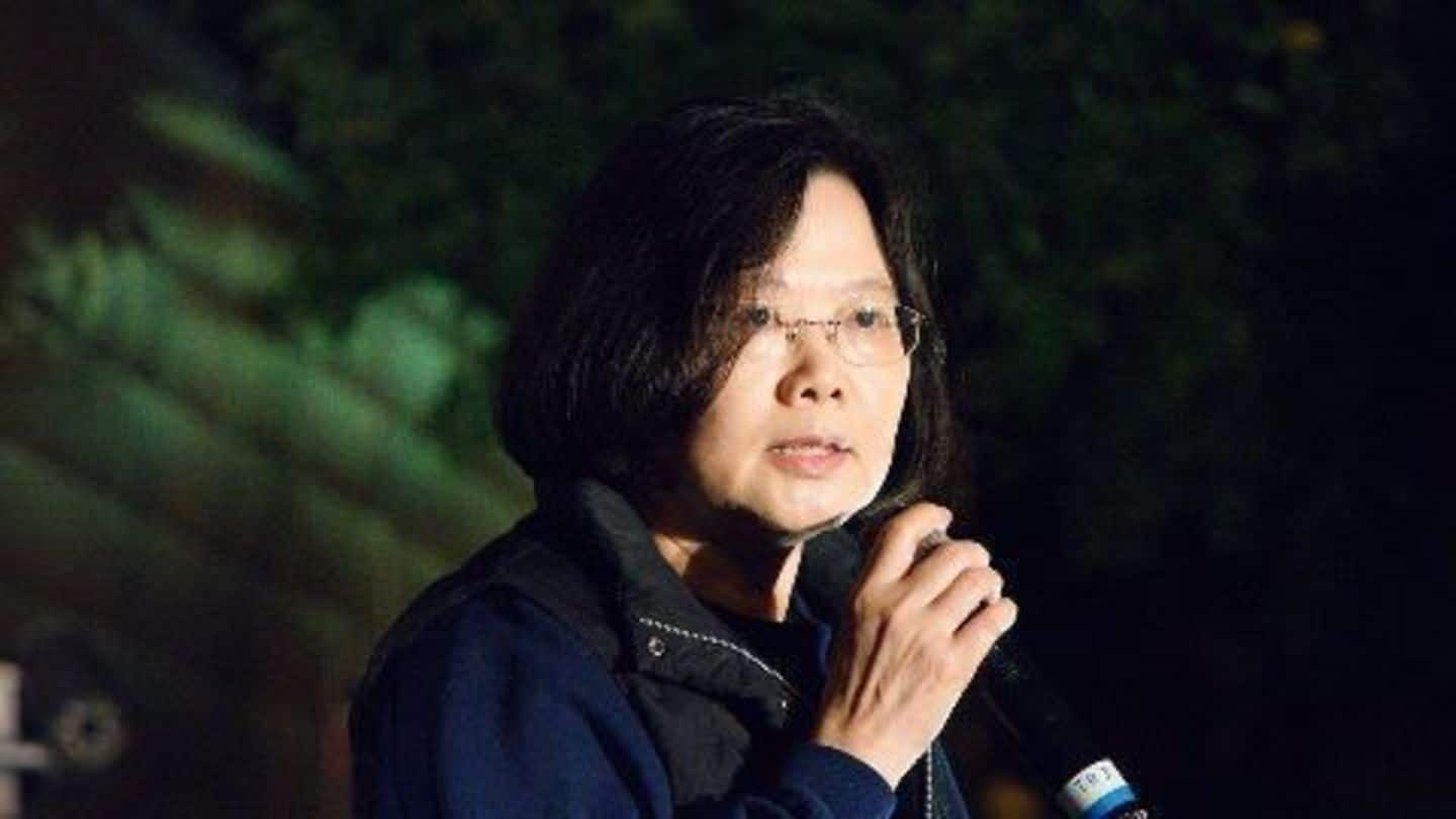 China ridicules Taiwan President on state media