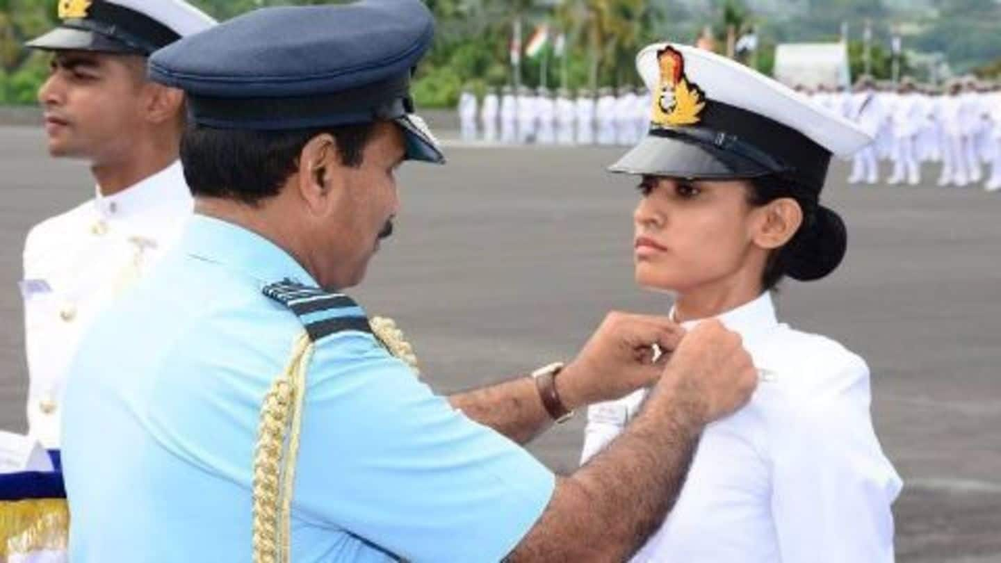 India commissions its first 3 female Air Force pilots