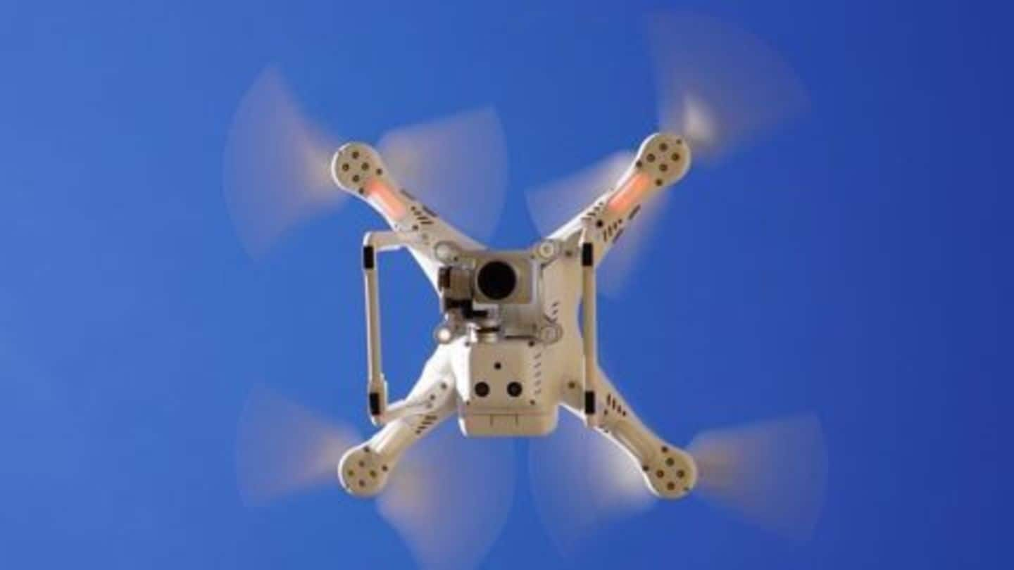 First successful drone delivery in New Jersey