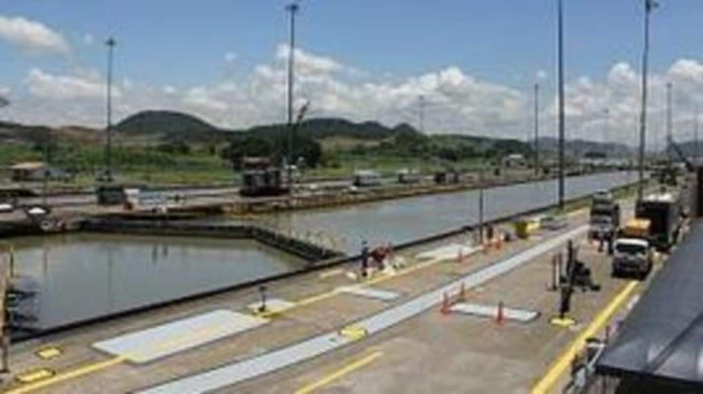 $5.2 billion Panama Canal projects opens to the public
