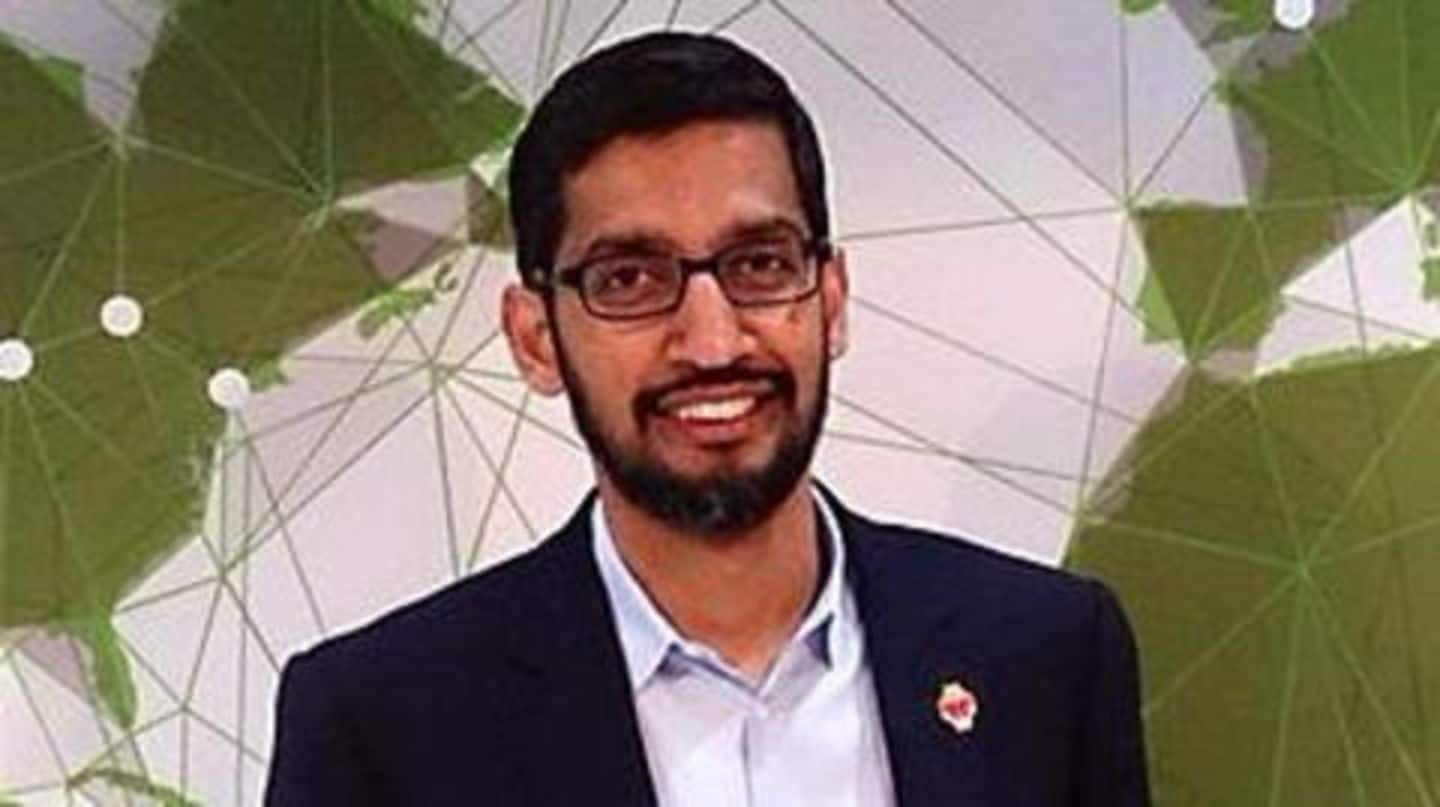 Google CEO Sundar Pichai turns 44
