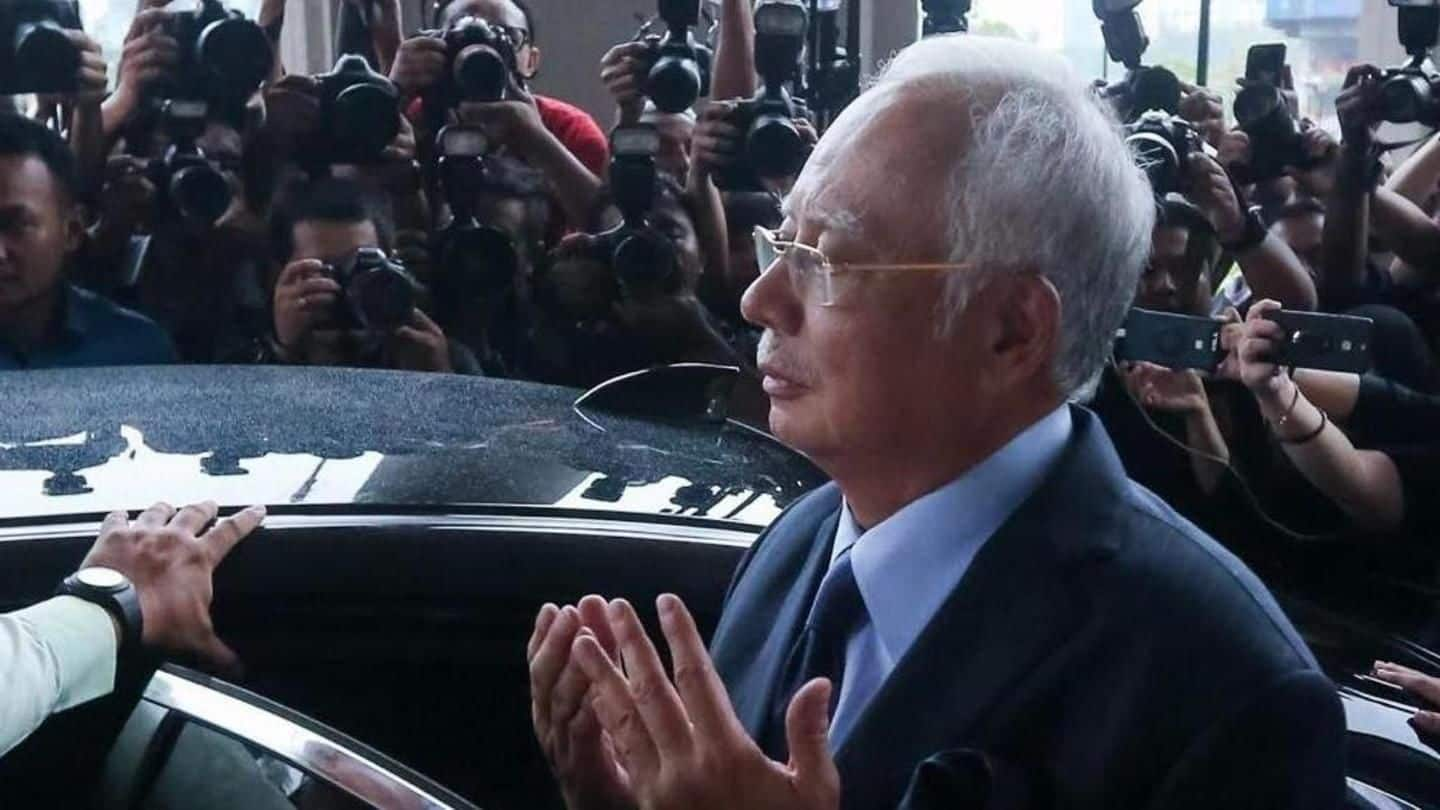 Malaysia ex-PM faces barrage of charges over $681mn bank balance