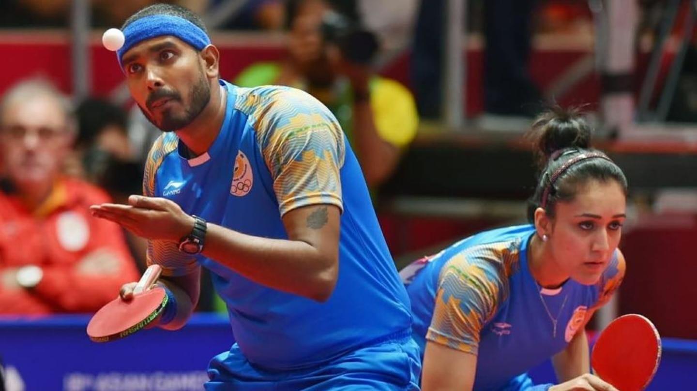 #AsianGames2018: Kamal, Batra win historic bronze in Mixed Doubles TT