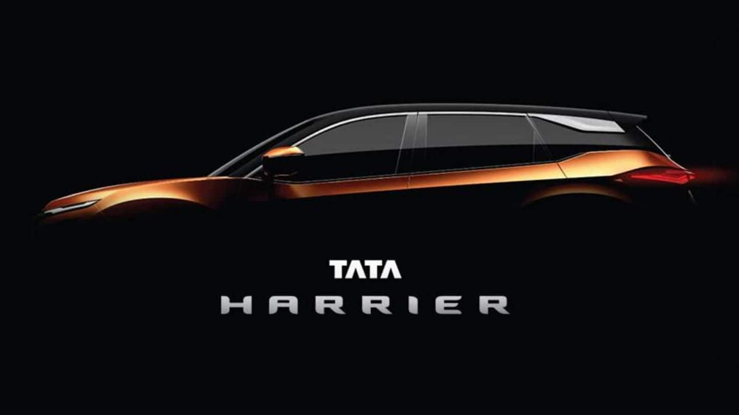 Tata-Motors' new SUV to be called 'Harrier'; launch in 2019