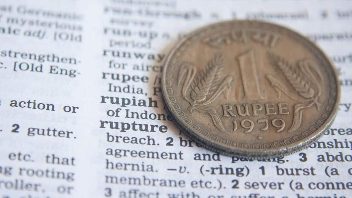 Rupee slumps by 30p; closes at record low of 74.06